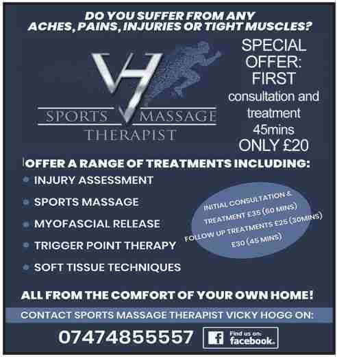 VH Sports Massge Therapist