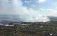 Firefighters Continue To Tackle Moorland Blaze