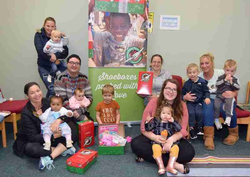 Church Launches Shoe Box Appeal